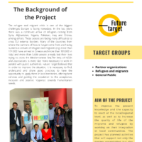 LEAFLET OF THE PROJECT