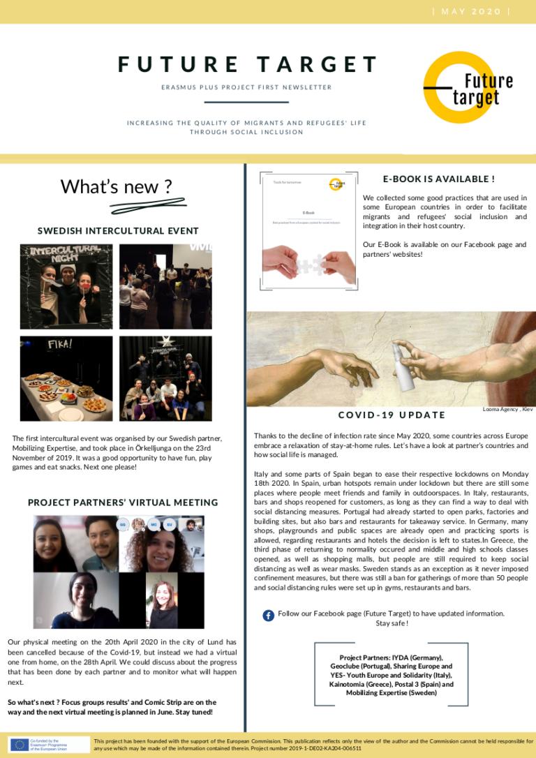 Read more about the article NEWSLETTER DE MAIO DE 2020: