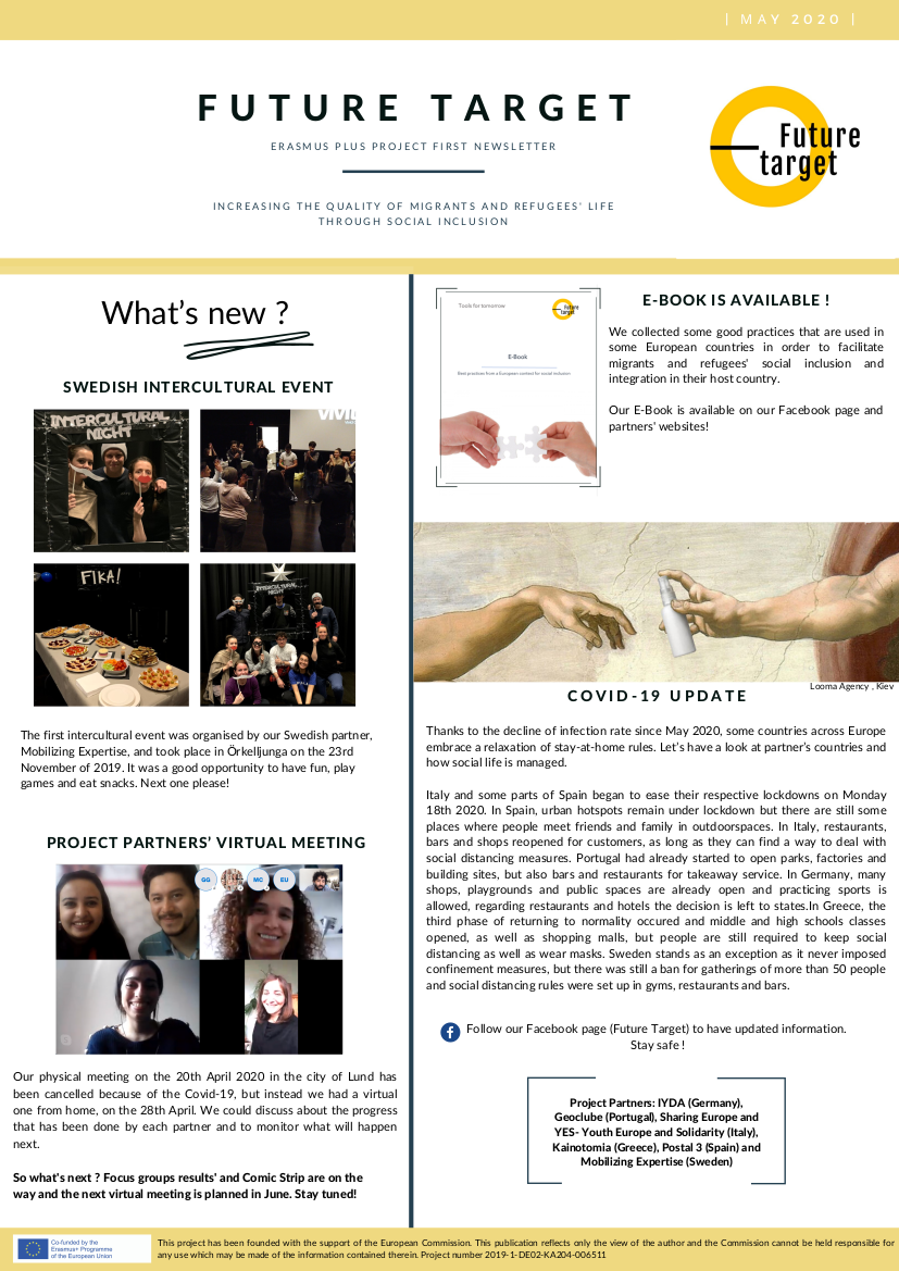 You are currently viewing NEWSLETTER MAGGIO 2020: